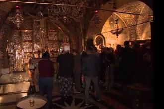 Minunea din Biserica Sf. Mormânt, locul sfânt al creștinilor. Mărturia unui preot