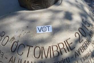 """Memorialul Colectiv, batjocorit cu mesaje electorale: """"Este o lipsă de empatie"""". FOTO"""