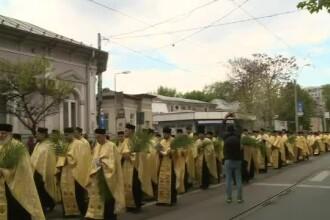 Mii de oameni din toată țara au participat la pelerinajul de Florii