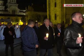 """Sărbătoarea Învierii în marile orașe din țară. Creștin: """"Ne-a adus Lumina pe acest pământ"""""""