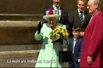 Regina Elisabeta, sărbătorită chiar de Paște. Meghan, în centrul atenției și când lipsește