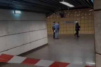 Sinucidere la metrou. O femeie s-a aruncat în fața trenului, în stația Gorjului. VIDEO