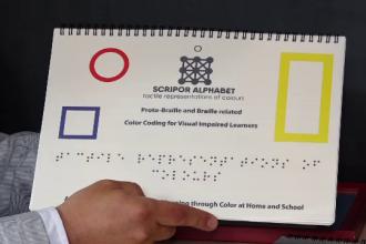 """Aplicația care îi ajută pe nevăzători să recunoască culorile: """"M-am luptat cu prejudecăți"""""""