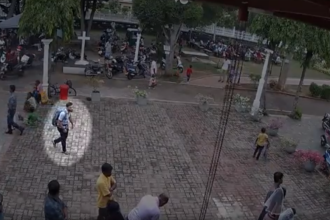 Prima înregistrare VIDEO cu un posibil atacator din Sri Lanka, chiar înainte de explozie