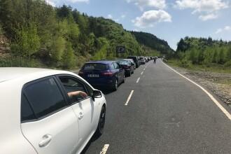 Românii se înghesuie la intrarea în Grecia, în vacanța de Paște. Coadă de mașini de aproape 3 kilometri