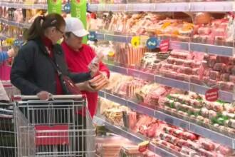 În magazine, românii care fac cumpărături de Paște dau adevărate teste de rezistență
