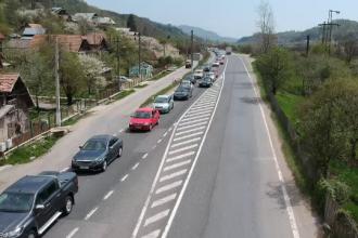 Coșmarul de pe DN1 de care nu mai scăpăm. Cozi de zeci de kilometri pe Valea Prahovei