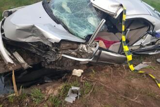 Accident grav pe DN 1. Doi copii au murit, după ce un șofer a intrat pe contrasens