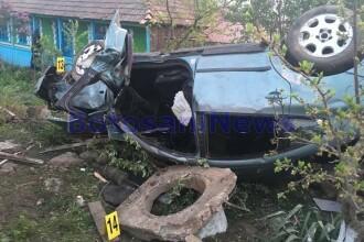 Tragedie de Înviere. Un bărbat și o fată de 16 ani au murit într-un accident, în Botoșani