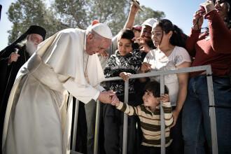 De Paște, Papa Francisc a donat o jumătate de milion de dolari pentru migranții din Mexic