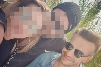 Ultima poză cu Răzvan Ciobanu în viață. Era îmbrăcat cu aceleași haine în care a decedat