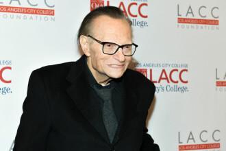 Cunoscutul prezentator de televiziune Larry King a suferit un infarct