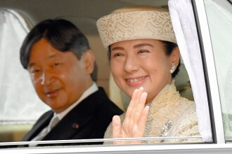 Ceremonia oficială de urcare pe tron a împăratului Japoniei. Iohannis, printre invitați