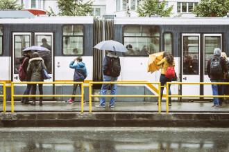 Prognoza specială pentru București. Ploi și vânt puternic până vineri