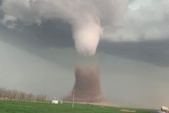 O tornadă uriașă s-a format în județul Călărași. Precizările ANM. VIDEO