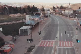 Cum arată Suceava în carantină totală. Imagini din oraș filmate cu drona