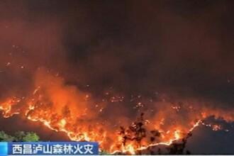 Imagini apocaliptice în China. 18 pompieri au murit într-un incendiu devastator