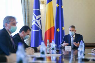 """Președintele Klaus Iohannis: """"De la începutul epidemiei s-au dat peste 78.000 de amenzi"""""""
