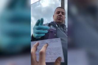 Reacția agresivă a unui polițist când un șofer nu i-a permis să îi atingă actele