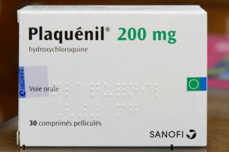 Agenţia Europeană a Medicamentului avertizează împotriva folosirii clorochinei pentru Covid-19