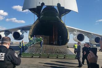 Rusia a trimis ajutoare umanitare în SUA