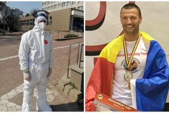 Sportivul care și-a luat concediu o lună pentru a fi voluntar în focarul de la spitalul din Suceava