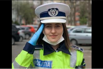Cine este polițista care a salutat în poziție de drepți un medic pe care l-a oprit pentru control