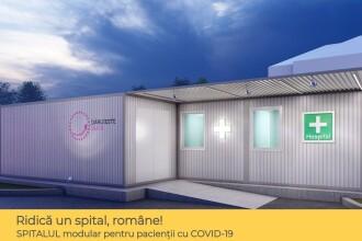 Asociația Dăruiește Viața începe construcția unui spital modular COVID-19 la Spitalul Elias