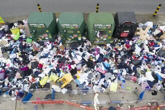 """Tone de deșeuri pe străzile din Marea Britanie. """"Guvernul trebuie să ne ajute"""""""
