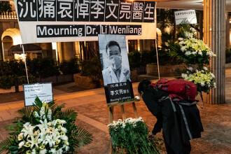 """Primul medic care a avertizat despre Covid-19 a fost declarat """"martir"""" în China"""