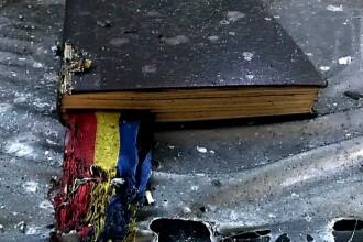 Incendiu la o biserică din Arad. Biblia și Tricolorul au scăpat din calea flăcărilor