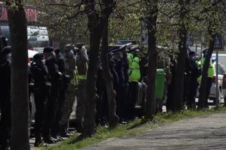 Gest impresionant al forțelor de ordine la Buzău. Cum și-au arătat respectul față de medici