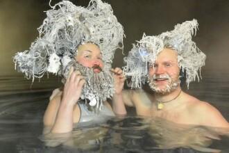 Concurs de păr îngheţat. Cel mai distractiv concurs serios