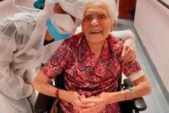 O femeie de 103 ani din Italia, supraviețuitoare a gripei spaniole, s-a vindecat de COVID-19