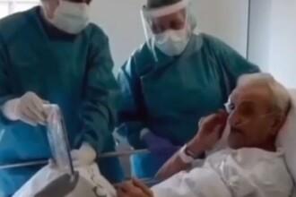 """Scenă emoționantă într-un spital din Spania. """"Viața mea nu are importanță, dar tu ai"""""""