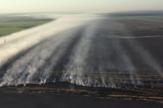 VIDEO din dronă. Poluare uriașă în București, locuitorii reclamă un miros puternic