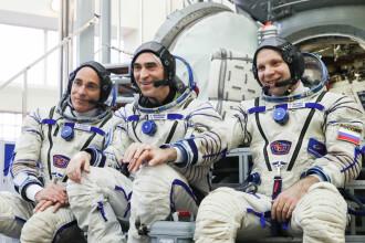 Un echipaj spațial a părăsit Pământul în timpul pandemiei