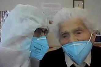 Femeia care a reușit să învingă coronavirusul la 103 ani. Ce tratament a urmat