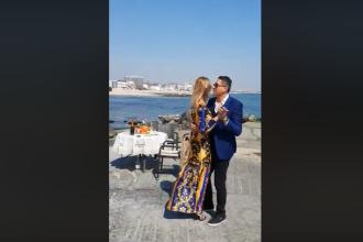 Politician amendat după ce soția sa a postat un clip în care cei doi dansează pe un dig din Eforie