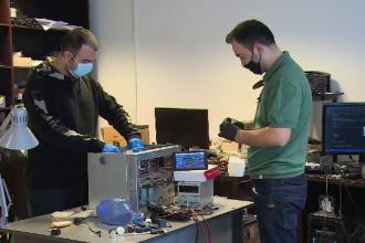 Românii care au creat un ventilator cu 2.000 de lei. Cum speră să îi ajute pe pacienții infectați cu COVID-19