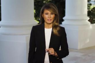 Mesajul Melaniei Trump, după ce a fost infectată cu noul coronavirus. Ce simptome are