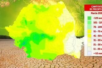 Zonele din România în care seceta poate provoca un adevărat dezastru