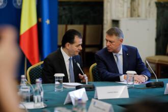 Klaus Iohannis stabilește cu membrii Guvernului măsurile impuse de prelungirea stării de urgență