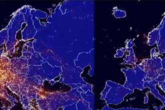 Animație grafică. Ce impact a avut pandemia de coronavirus asupra zborurilor. VIDEO