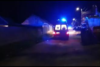 Bătaie între mai multe persoane, la Codlea. Polițiști răniți după ce au fost atacați cu lopata