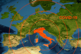 Planul Italiei după relaxarea restricțiilor: măști gratuite și o aplicație de urmărire