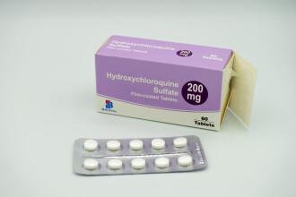 STUDIU: Hidroxiclorochina nu este eficient în tratarea bolnavilor de Covid-19