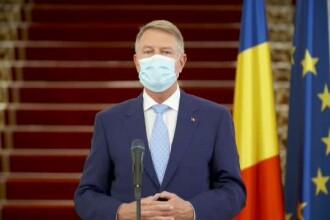 """Klaus Iohannis: """"După 15 mai, toată lumea va fi obligată să poarte măști de protecție"""""""