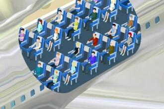 Pașapoarte de sănătate și rânduri libere în avion. Ce măsuri s-ar putea lua vara aceasta