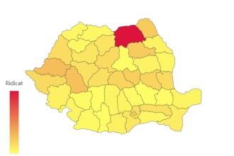 Coronavirus România. Județul care a înregistrat peste 100 de noi îmbolnăviri